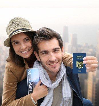הגשת טפסים וקביעת מועד ראיון לויזת תיירות לארצות הברית, נשוב אליך לוידוא פרטים.