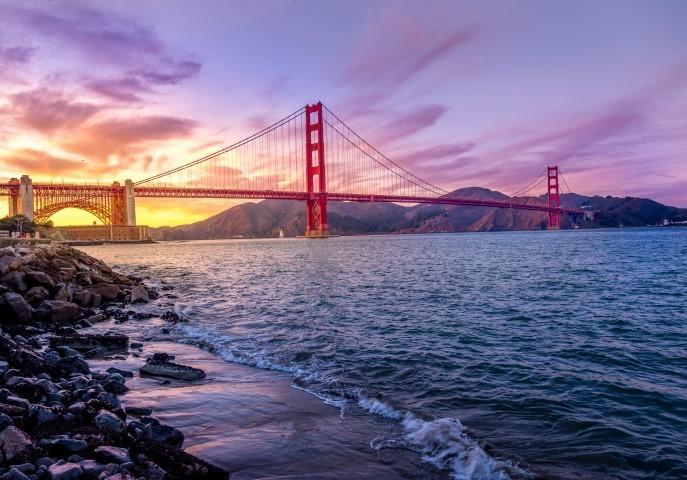 הגשר ליד הים - ארצות הברית