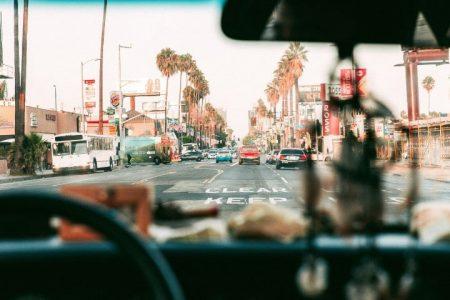 בדרכים של לוס אנג'לס - ארצות הברית