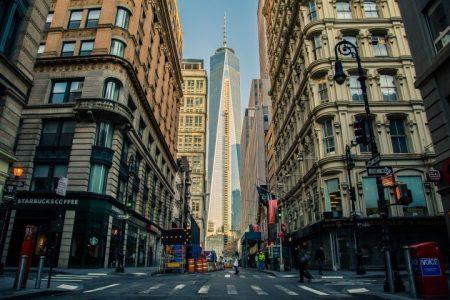 בניינים ברחובות ארצות הברית