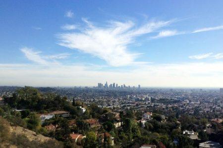 הנוף של לוס אנג'לס - ארצות הברית