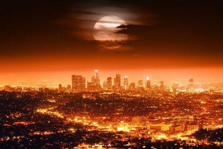 מבט לילי על לוס אנג'לס