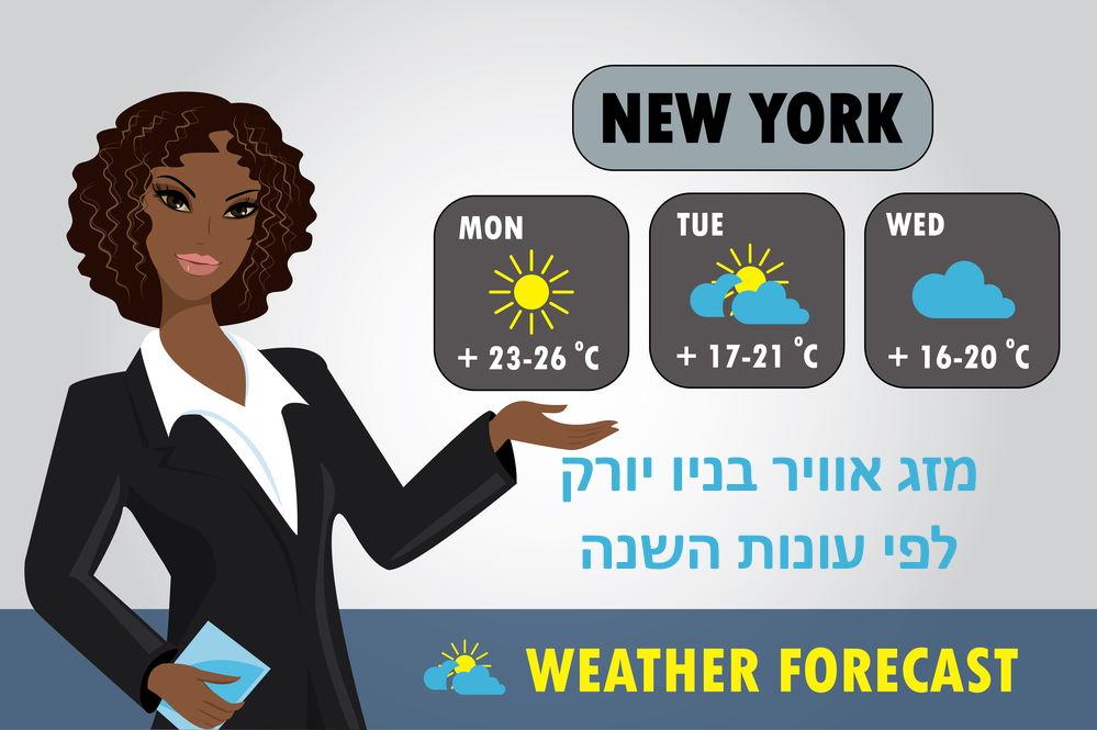 מזג אוויר ניו יורק