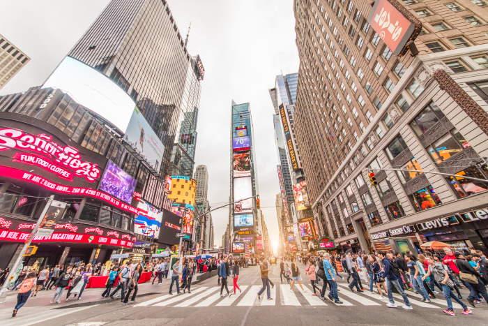כיכר טיימס סקוור Times Square